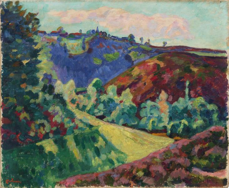 Vue de Crozant, datée juin 1921