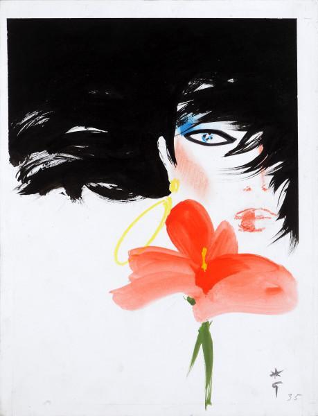Belle à l'hibiscus