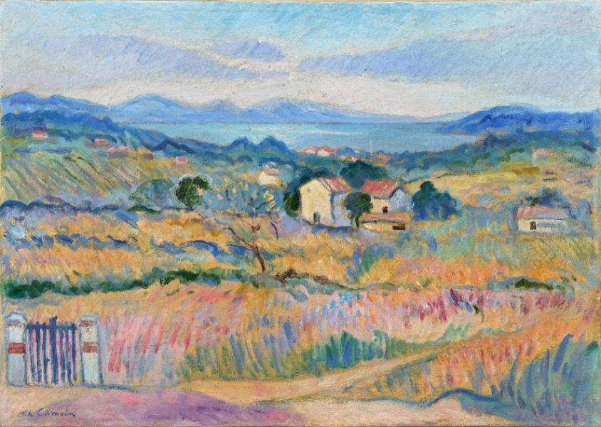 Environs de Saint Tropez, vers 1921