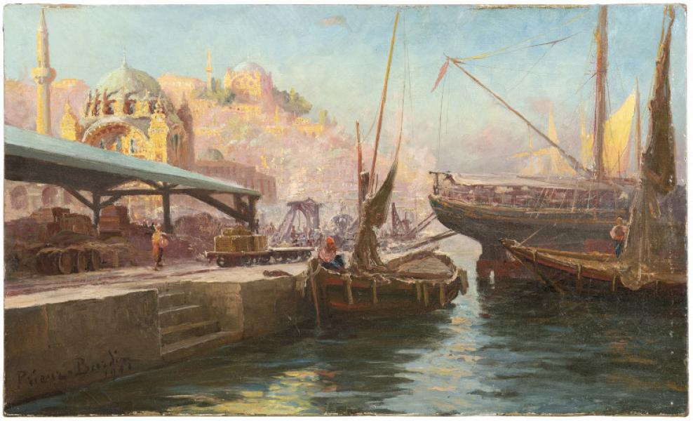 Vue de Constantinople, 1901
