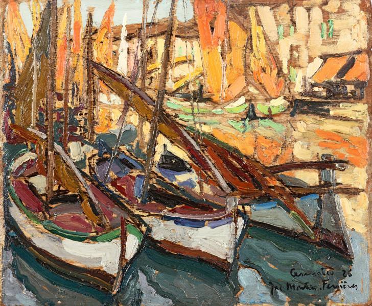 Cesenatico, le port, 1926