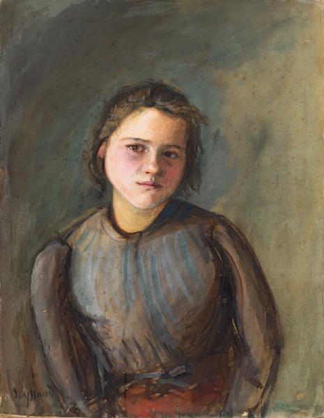 Portrait de jeune fille, vers 1896