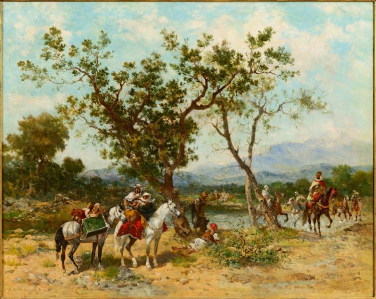 Cavalier arabe