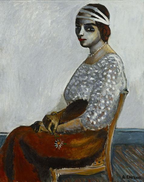 La femme aux trois rubans (Martita), vers 1912
