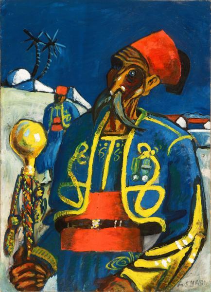 Le Tambour-major des tirailleurs, vers 1927