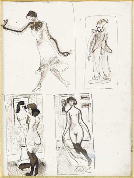 Scènes parisiennes, vers 1907