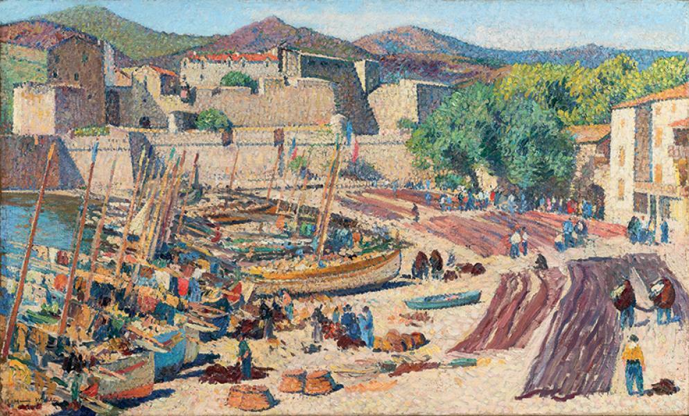Le port de Collioure